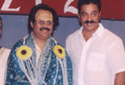 Crazy Mohan with Kamal